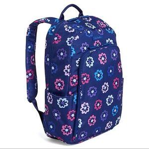 Vera Bradley Ellie Flowers Laptop Backpack
